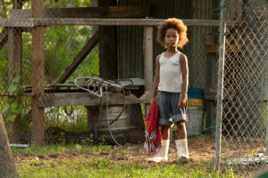 Quvenzhané Wallis, young star of Beasts Of The Southern Wild.