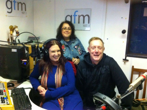 GFM presenters Becky Clarke, Christina Walker (Back) and Ian Liversidge