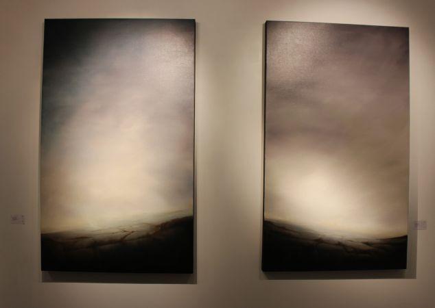 Simon Ledson, oil on linen
