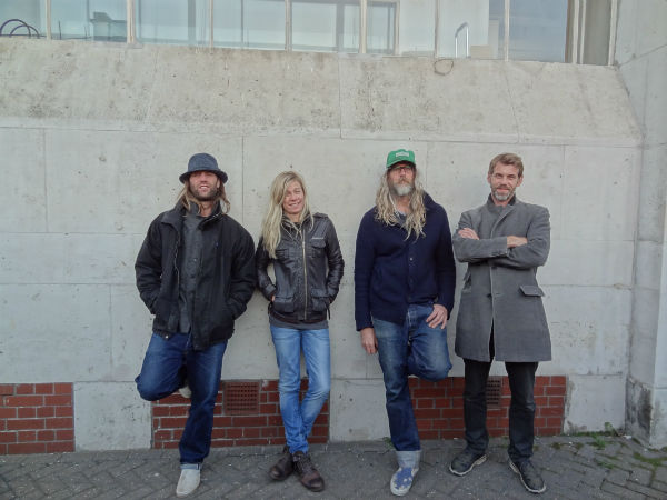 Left to right: Gary Stringer, Amy Newton, Jack Bessant and Dominic Greensmith