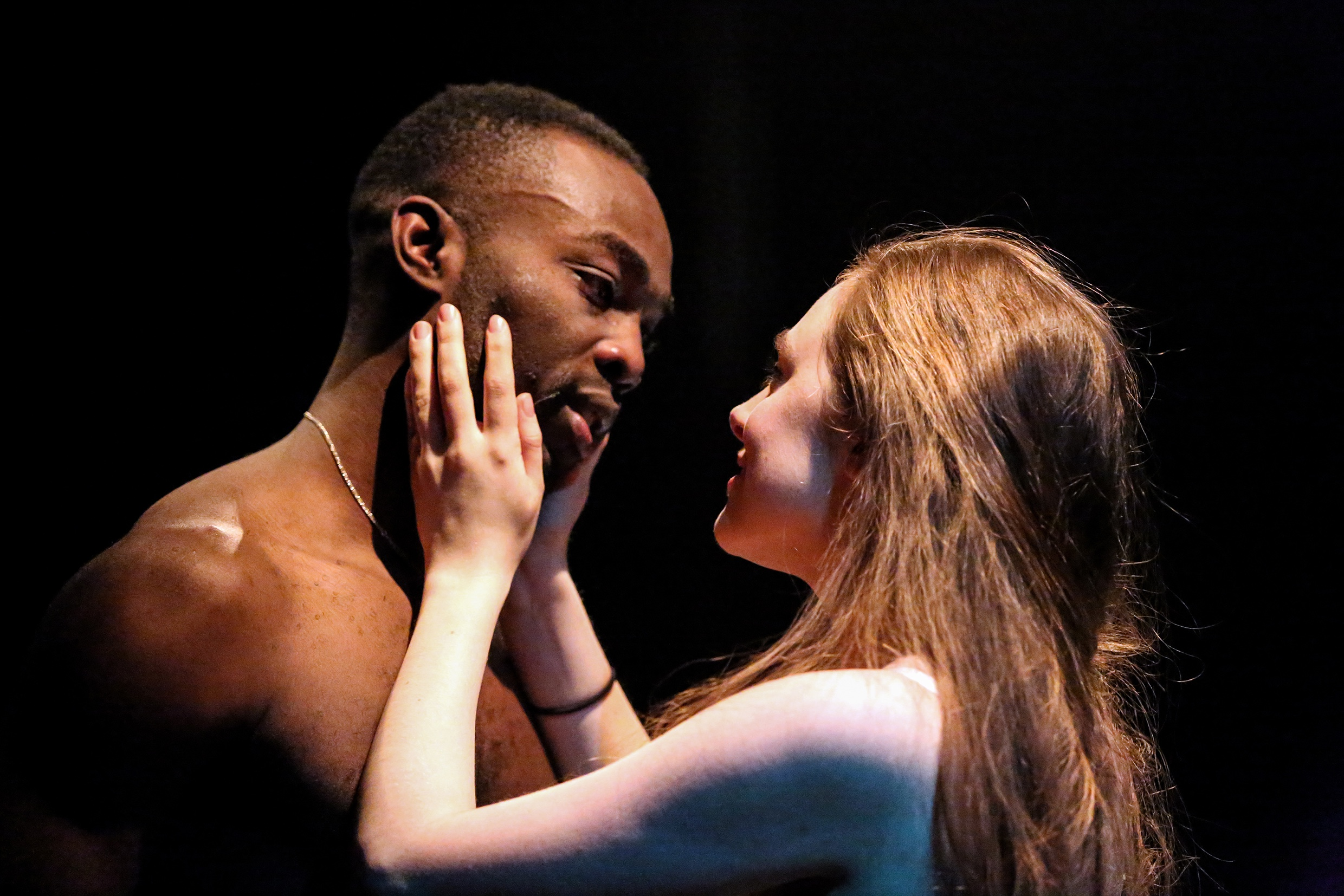 Paapa Essiedu as Romeo and Daisy Whalley as Juliet © Craig Fuller