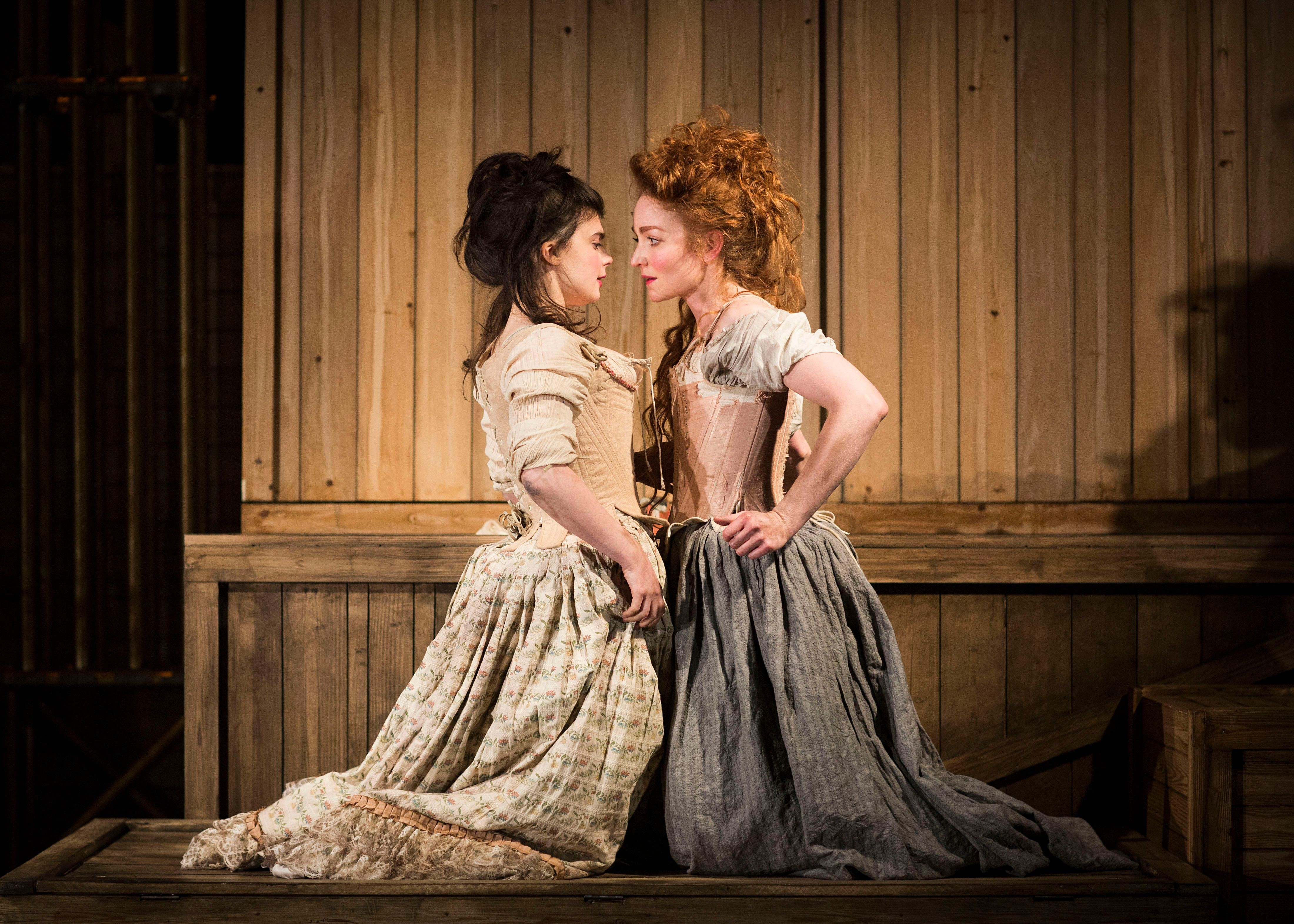 The Life and Times of Fanny Hill - Gwyneth Keyworth (Swallow), Phoebe Thomas (Louisa)- Photos by Helen Maybanks (30)
