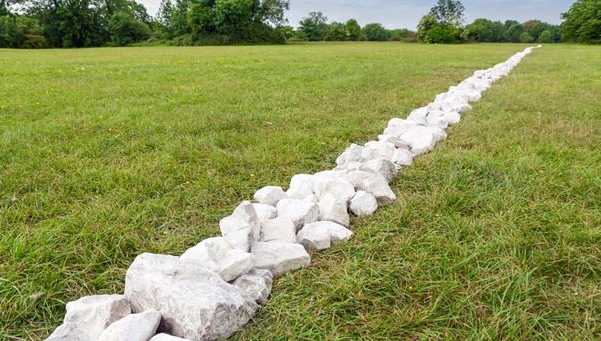 Richard Long, 'Boyhood Lines', 2015