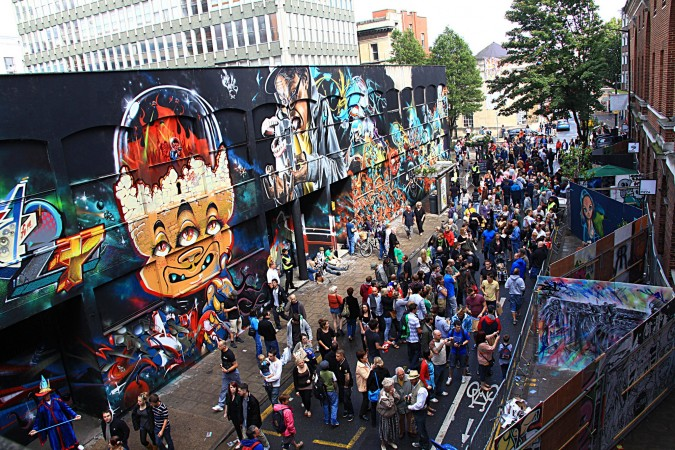 'See No Evil' Upfest Festival - Picture by Ben Merrington for cultureweekly.com