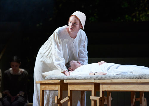 The-Crucible---Bristol-Old-Vic---Rona-Morison-(Abigail-Williams)-and-Grace-Reynolds-Buckton-(Betty)-Photo-by-Geraint-Lewis-(106)---LOW-RES