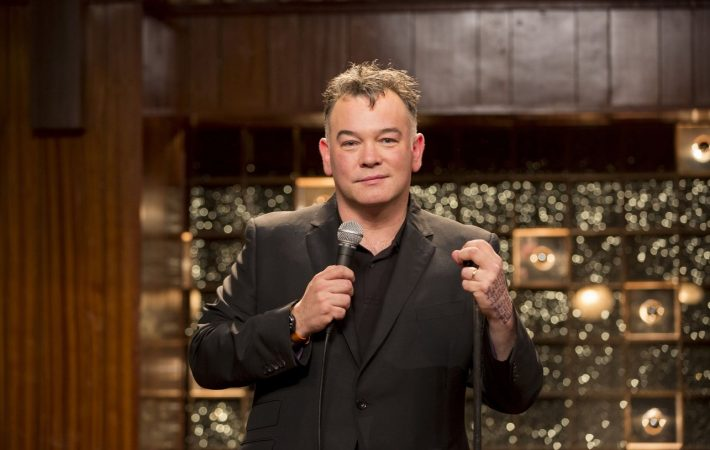 Programme Name: Stewart Lee's Comedy Vehicle - TX: n/a - Episode: n/a (No. n/a) - Picture Shows: at the Mildmay Club. Stewart Lee - (C) BBC - Photographer: Colin Hutton