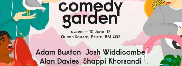 Review: The laughs return to Queen Square as Bristol Comedy Garden '18 opens